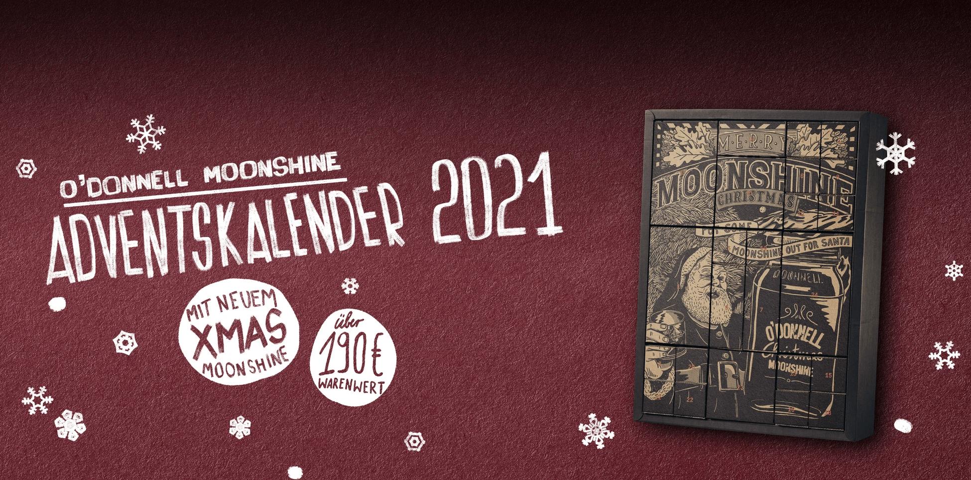 O´Donnell Moonshine - Adventskalender 2021