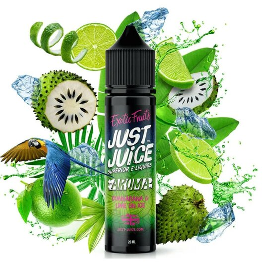 Just Juice - Guanabana & Lime On Ice 20ml
